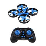 skyii RC Quadcopter Drone, LED Light Mini helicopter with 2.4GHz 4CH 6 Axis Gyro One Key Return Remote Control And Headless Mode Nano Quadcopter