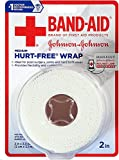 BAND-AID First Aid Hurt-Free Wrap, Medium 2 inch, 1 ea (Pack of 3)