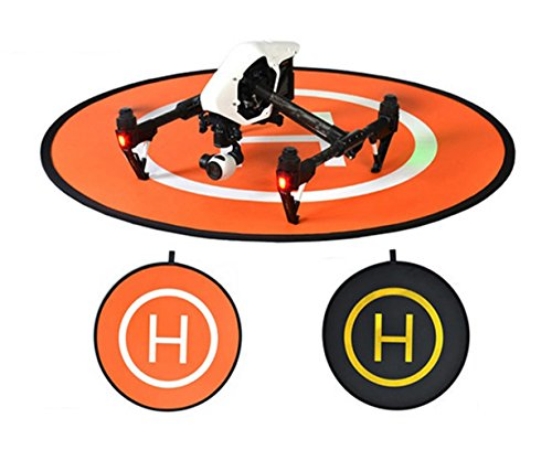 Owoda-PGY-Double-side-Portable-Helicopter-Landing-Pad-433inch-Large-Launch-Pad-for-DJI-Phantom-Inspire-Series-Drone-and-Other-Professional-RC-Quadcopter
