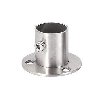 2 St/ück 32mm Durchmesser Kleiderschrank Spurstangenkopf Kleiderstange Halterung DE de
