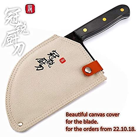 Best Quality - Kitchen Knives - Handmade Forged Chef Knife Clad Steel  Forged Chinese Cleaver Professional Kitchen Knives Meat Vegetables Slicing  ...