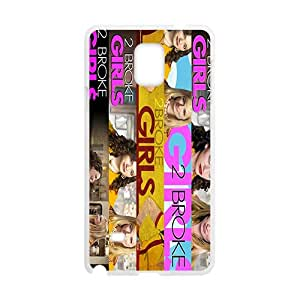 2015 2 Broke Girls Phone Case and Cover for Samsung Galaxy Note 4