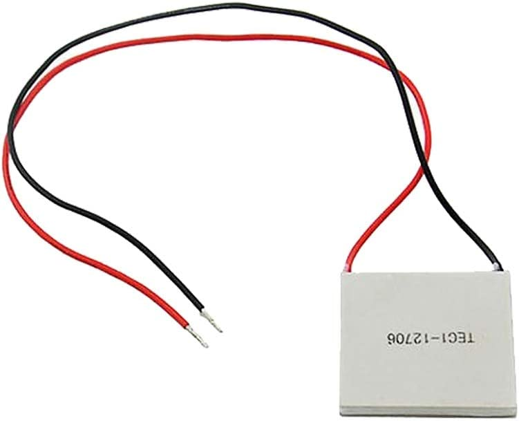 MADONG TEC1-12706 40x40mm Thermoelectric Cooler Peltier Refrigeration Plate Module 12V 60W