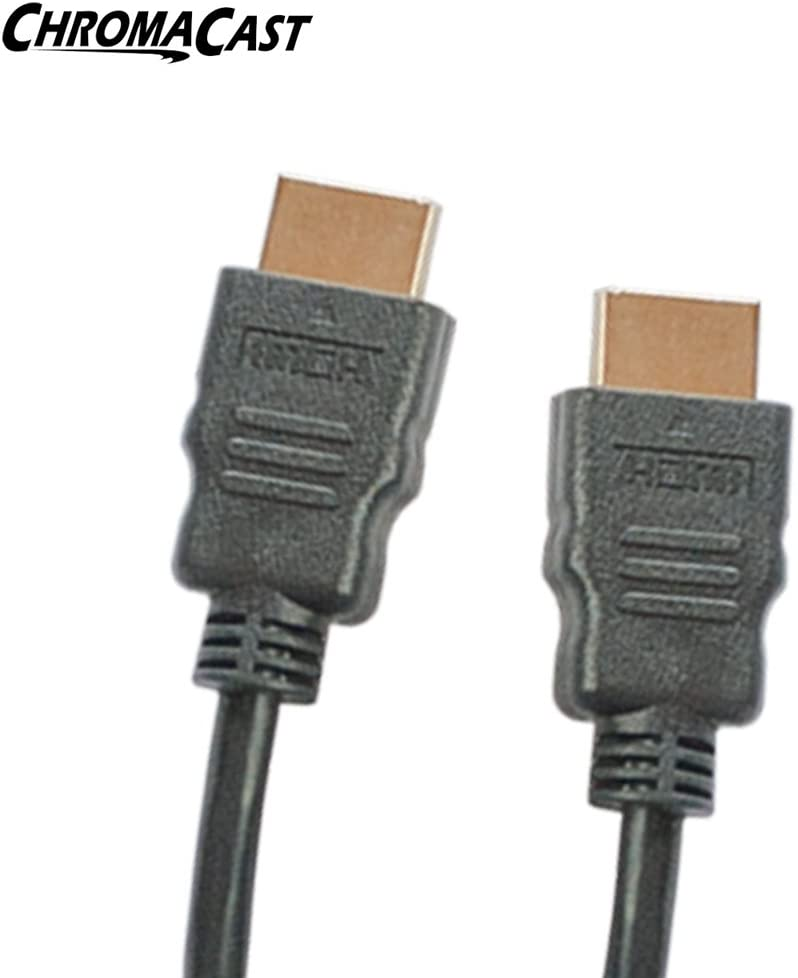 ChromaCast High-Speed HDMI Cable 20 Feet 3D and Audio Return Newest Standard - Supports Ethernet
