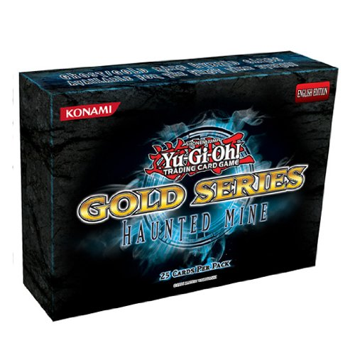 Yu-Gi-Oh! Gold Series Haunted Mine Pack of 25 Cards by Konami by Konami