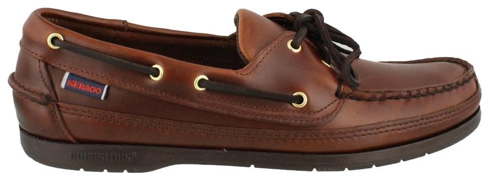 Sebago Men's Schooner Shoe,Brown Oiled Waxy,8 N US/B