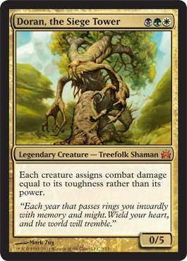 Magic: the Gathering - Doran, the Siege Tower - From the Vault: Legends - Foil
