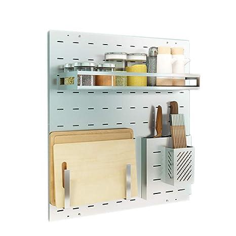 Porta utensili da cucina FJH Stoviglie Cucina Rack 304 in Acciaio ...