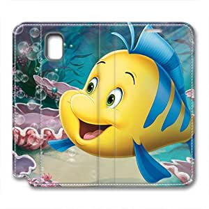 iCustomonline The Little Mermaid Personalized Leather Case for Samsung Galaxy Note 3