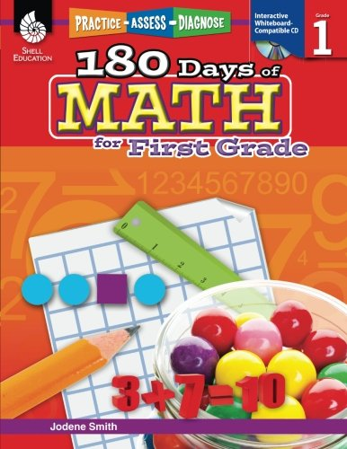180 Days of Math for First Grade (180 Days of Practice) cover