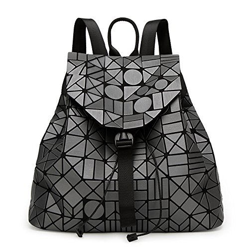 Mefly Business Rucksack Schultern Geometrische Lingge Paket Fashion Business Schulter Tasche Rucksack gray