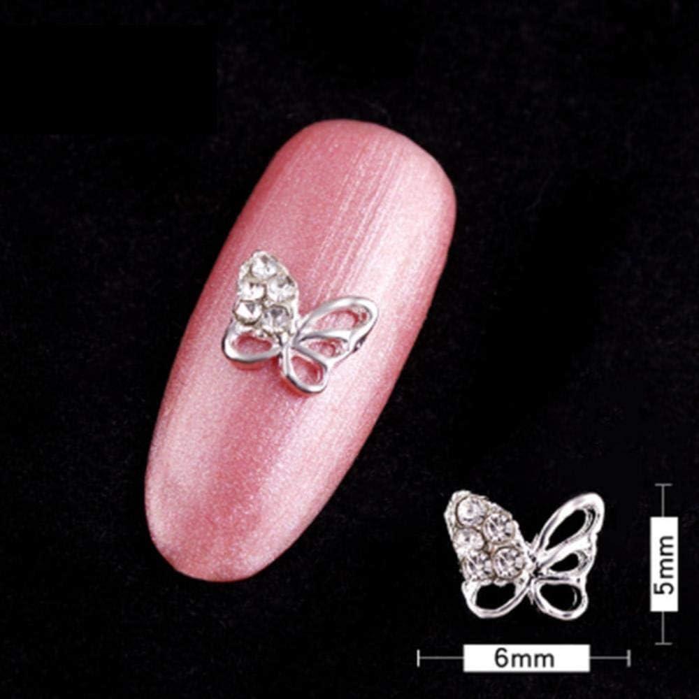 3D Super Flash AB Rhinestone Perlas Manicura Encantadora Piedra preciosa Decorativa Joyería L Diamante Estilo 11.