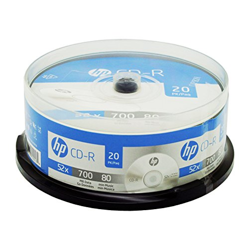 Hewlett Packard CR52020CB CD-R 20PK Spindle