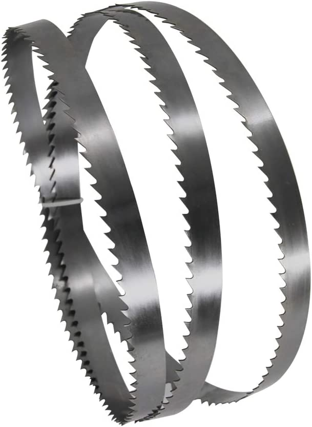 tama/ño : TPI 6 without brand LT-Tool 2pcs de 1650 /× 15 /× 0,65 mm Sierra de Cinta Hojas de Sierra de Acero al Carbono de la Banda de la l/ámina for Madera Metal Pl/ástico 6 TPI