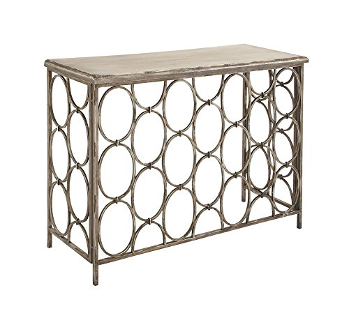 Deco 79 Metal Wood Console Table