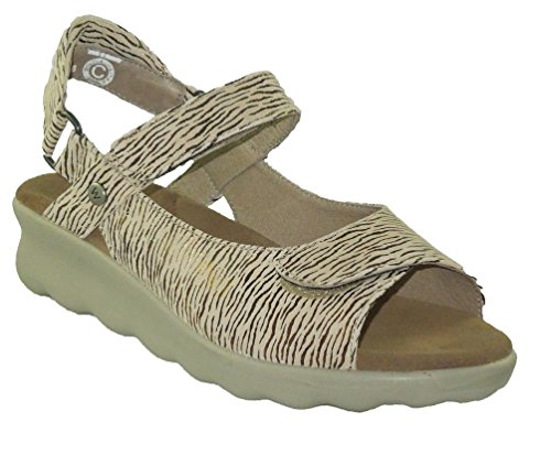 Wolky Comfort Sandals 01890 Pichu Beige Canals
