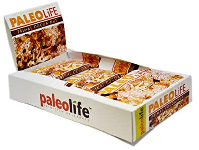 PaleoLife Paleo Bars - NO GLUTEN/SOY/DAIRY! (Pack of 16 Large Premium Paleo Bars) - Primal Cocoa-Nut flavor from PaleoLife Foods, Inc.