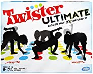 Twister Ultimate: Bigger Mat, More Colored Spots, Family, Kids Party Game Age 6+; Compatible with Alexa (Amazo