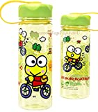 Sanrio Keroppi Tritan BPA Free Water Bottle with Removable Inner Adapter 14 Ounces