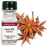 Anise Oil - 2 Dram Pack - LorAnn Oils - Includes a Recipe Card