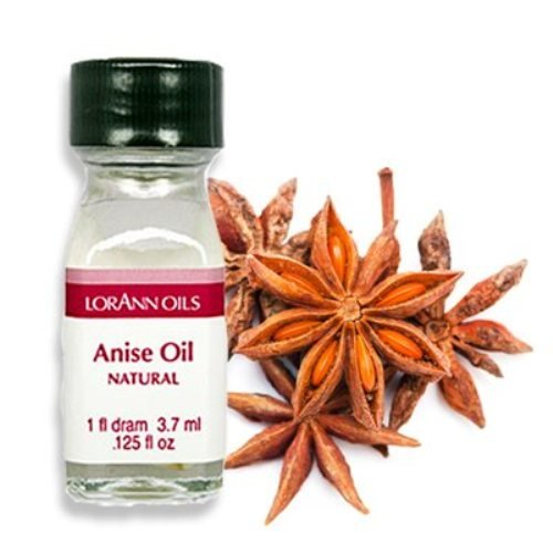Anise Candy Recipe - Anise Oil - 2 Dram Pack - LorAnn Oils - Includes a Recipe Card