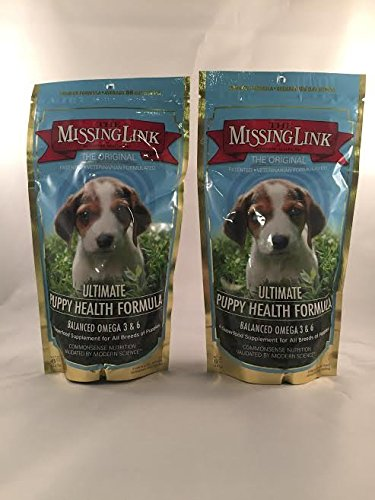 2 Pack – Missing Link 8-Ounce Puppy Health Formula – Puppy Food – Dog Food – Puppy Food For Sale