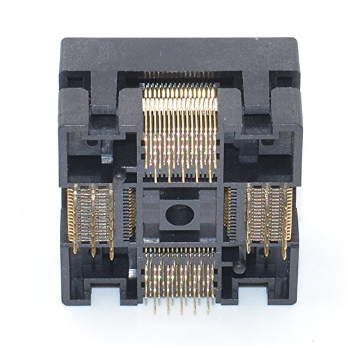 ALLSOCKET QFP64-0.5 Socket IC Burn-in Tesing Socket OTQ-64-0.5-01 0.5mm Pitch 10x10mm IC Dimension Open-top Socket Soldering Version(QFP64-0.5-STP) by ALLSOCKET (Image #5)