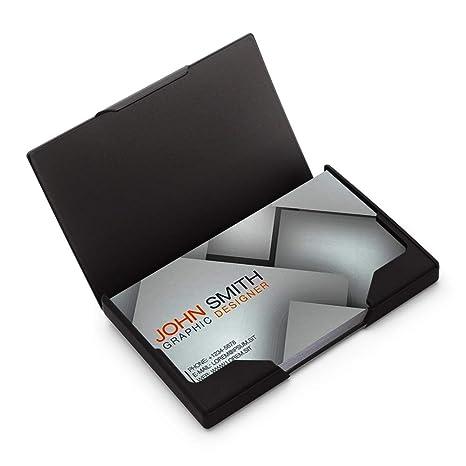 Amazon.com: Tarjetero profesional para tarjetas de visita ...