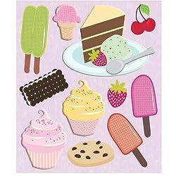 K&company Desserts Sticker Medley
