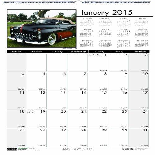 Doolittle Classic Cars - House of Doolittle 3771 Classic Cars Monthly Wall Calendar, 12 x 12, 2015 by House of Doolittle