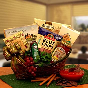 Image Unavailable. Image not available for. Color: The Salsa and Chips Gourmet Gift Basket