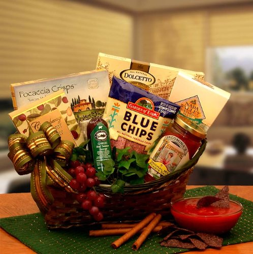 The Salsa and Chips Gourmet Gift Basket