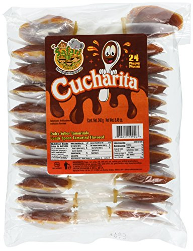 Spoon Hot Candy Tamarind Flavor Candy(cucharita Con Tamarindo)