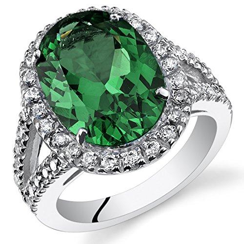 7.00 Carats Simulated Emerald