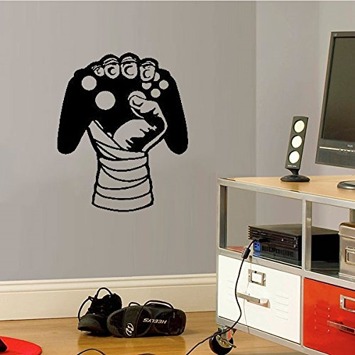 Adesivo de Parede Controle de Vídeo Game 1 - Es 118x98cm