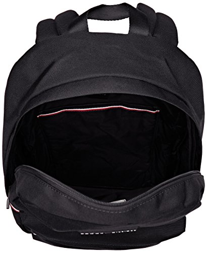 Tommy Hilfiger Herren Tommy Backpack Schultertasche, 16x30x46 cm Schwarz (Black)