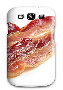 Snap On Hard Case Cover Bacon Protector For Galaxy S3 FHV1MPR12D352WPQ