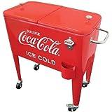 Leigh Country Retro Metal Coca-Cola Cooler, 60 quart