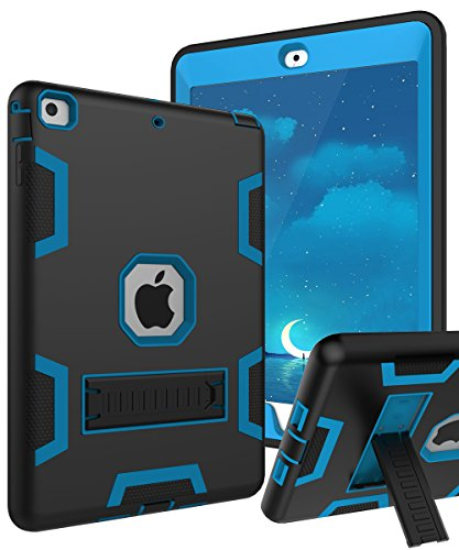 TIANLI Convertible Protective KickStand Black Blue
