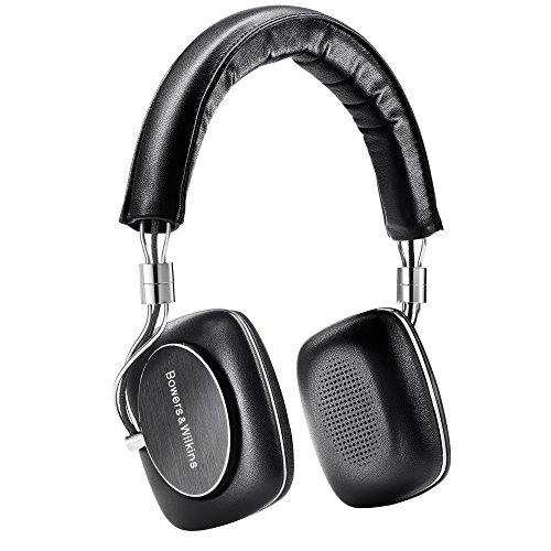 Bowers & Wilkins  P5 Serie 2 Kopfhörer inkl. MFI-Anschlusskabel für Apple iPod/iPhone schwarz