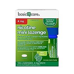 Basic Care Nicotine Mini Lozenge 4 mg  S...