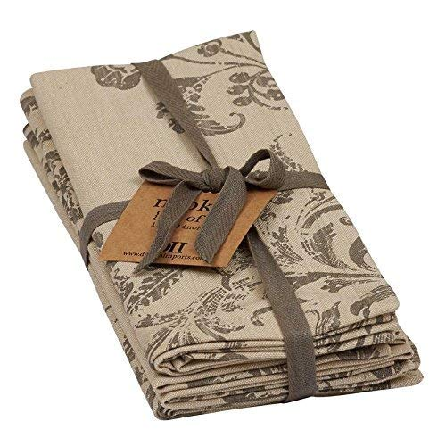 French Scroll Napkins Set of 4