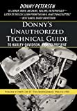 Donny's Unauthorized Technical Guide to Harley-Davidson, 1936 to Present, Donny Petersen, 1475942842