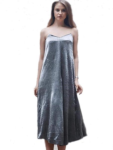 FuweiEncore Vestido de Verano/Falda de Playa/Vestido de arnés ...