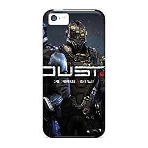 Awesome Dust 514 Video Game Flip Cases With Fashion Design For ipod touch4