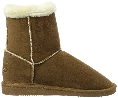 Boots and Warm Brown 370 Boots Women's Braun Short Tobacco Canadians Bootees Shaft Lined 0YBxEqR
