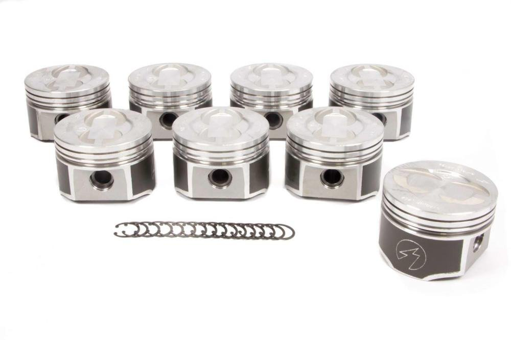 +.060 Bore Speed Pro TRW L2303NF forged pistons moly rings set compatible with Ford 428 Cobra Jet CJ