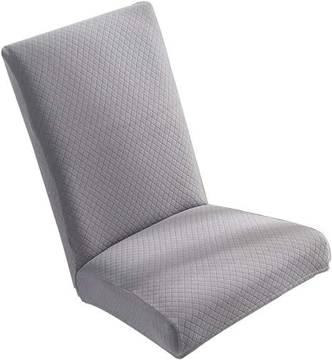 Küche Samt Stuhlhussen Stuhlbezug Stuhlüberzug Dehnbar Stretch Schutz Schonbezug
