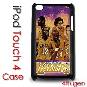 IPod Touch 4 4th gen Touch Plastic Case - La Lakers Basketball