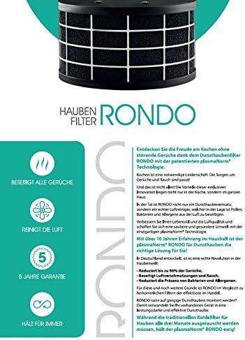 Plasma Campana extractora Plasma Isla Redonda con función 24h comodidadgalvamet Keep 45 x 45/A IX de BLK Plasma/Negro/cristal Acero Inoxidable Diseño/ECO LED/Fabricado en Italia/Alemania: Amazon.es: Bricolaje y herramientas